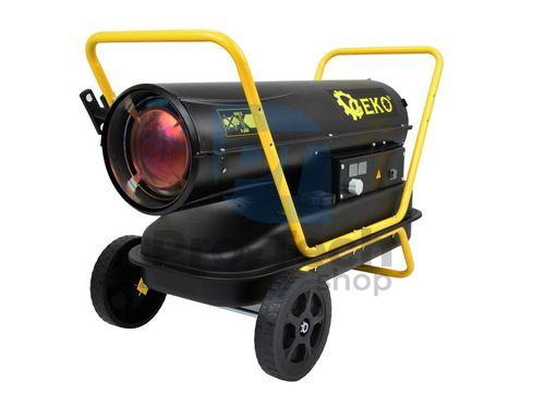 Naftový ohřívač vzduchu s přímým spalováním 40kW a termostatom 01228