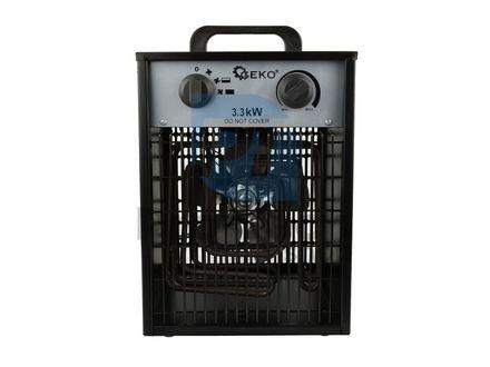 Elektrický průmyslový ohřívač vzduchu 3,3kW 01224